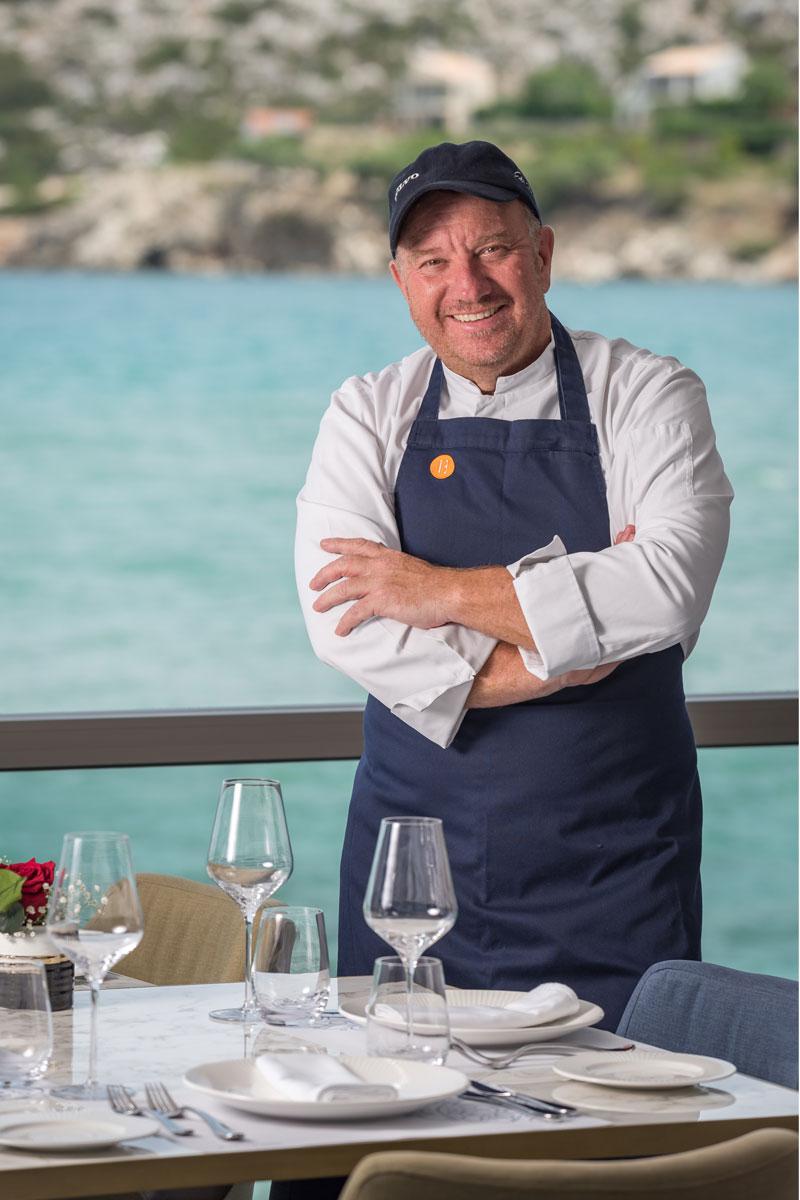 Ettore Botrini Head Chef Almyvita Luxury Restaurant- Chania- Almyrida