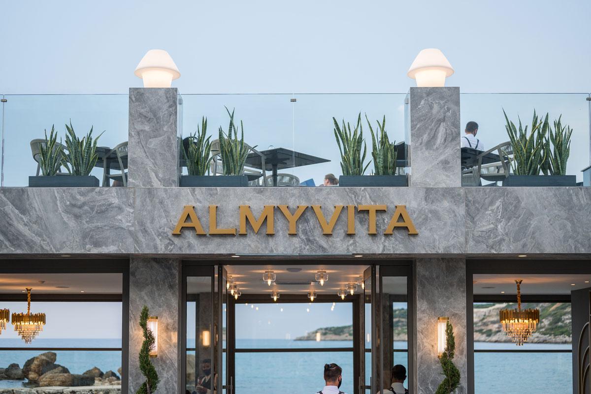 Seaview restaurants Chania- Chania Seafood- beachfront restaurant Chania- Almyvita Luxury Restaurant