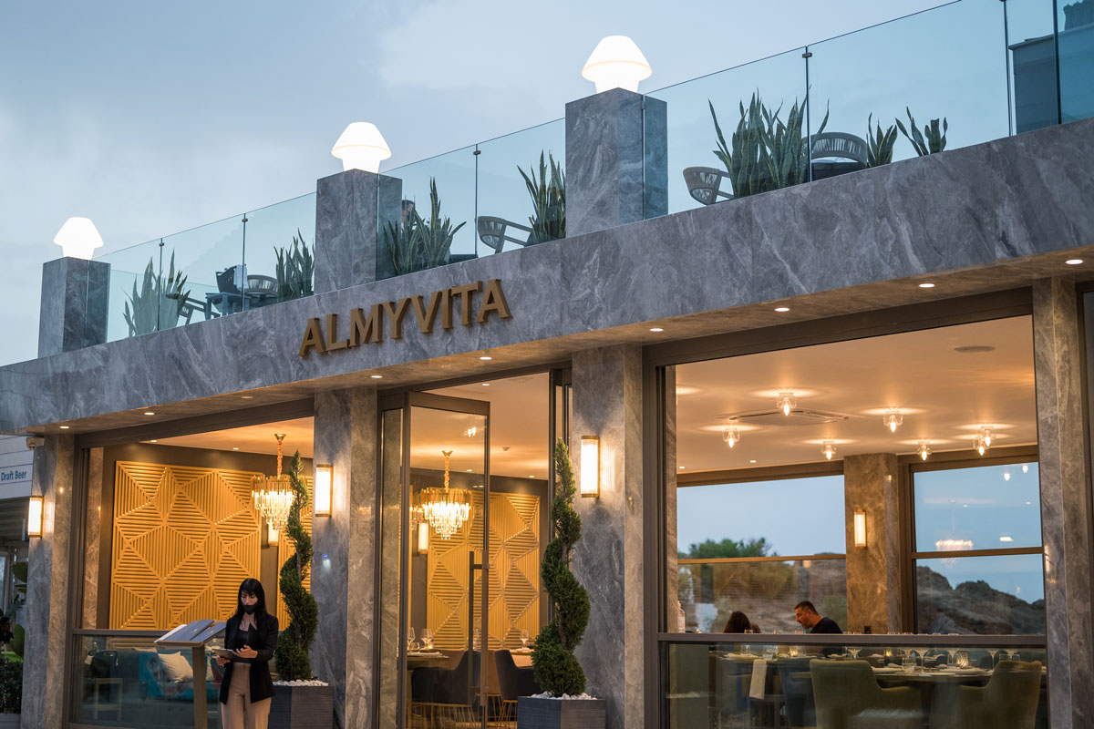 Almyrida Restaurant- Restaurants chania apokoronas - luxury restaurant Chania
