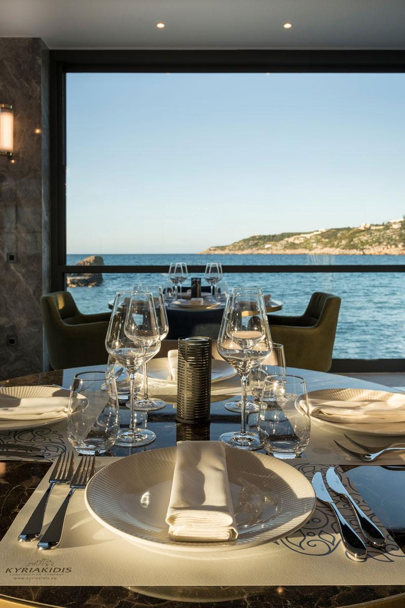 Almyvita Luxury Seaview Restaurant- Almyrida Chania