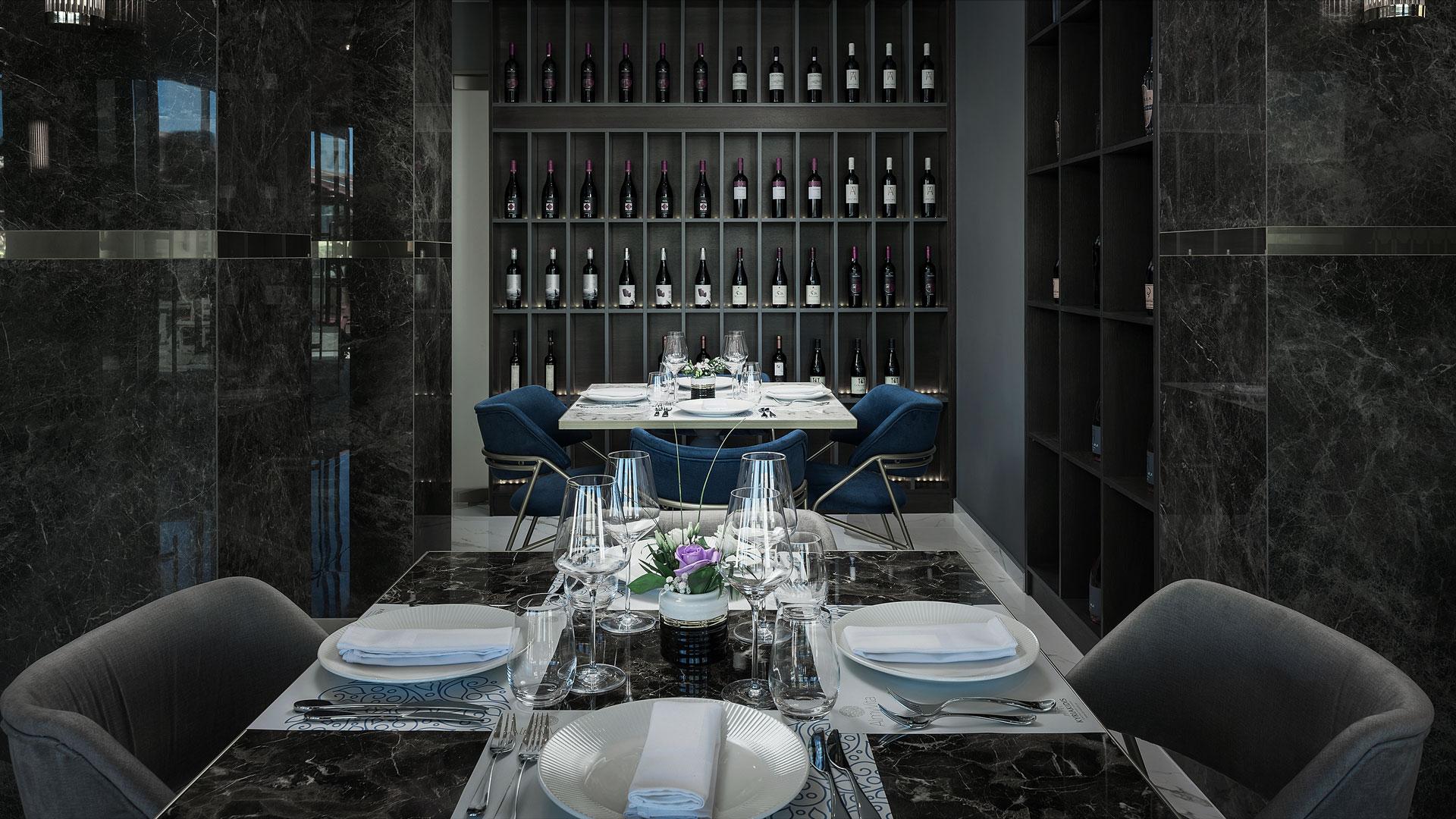 Almyvita Luxury Seafood Restaurant- Wines