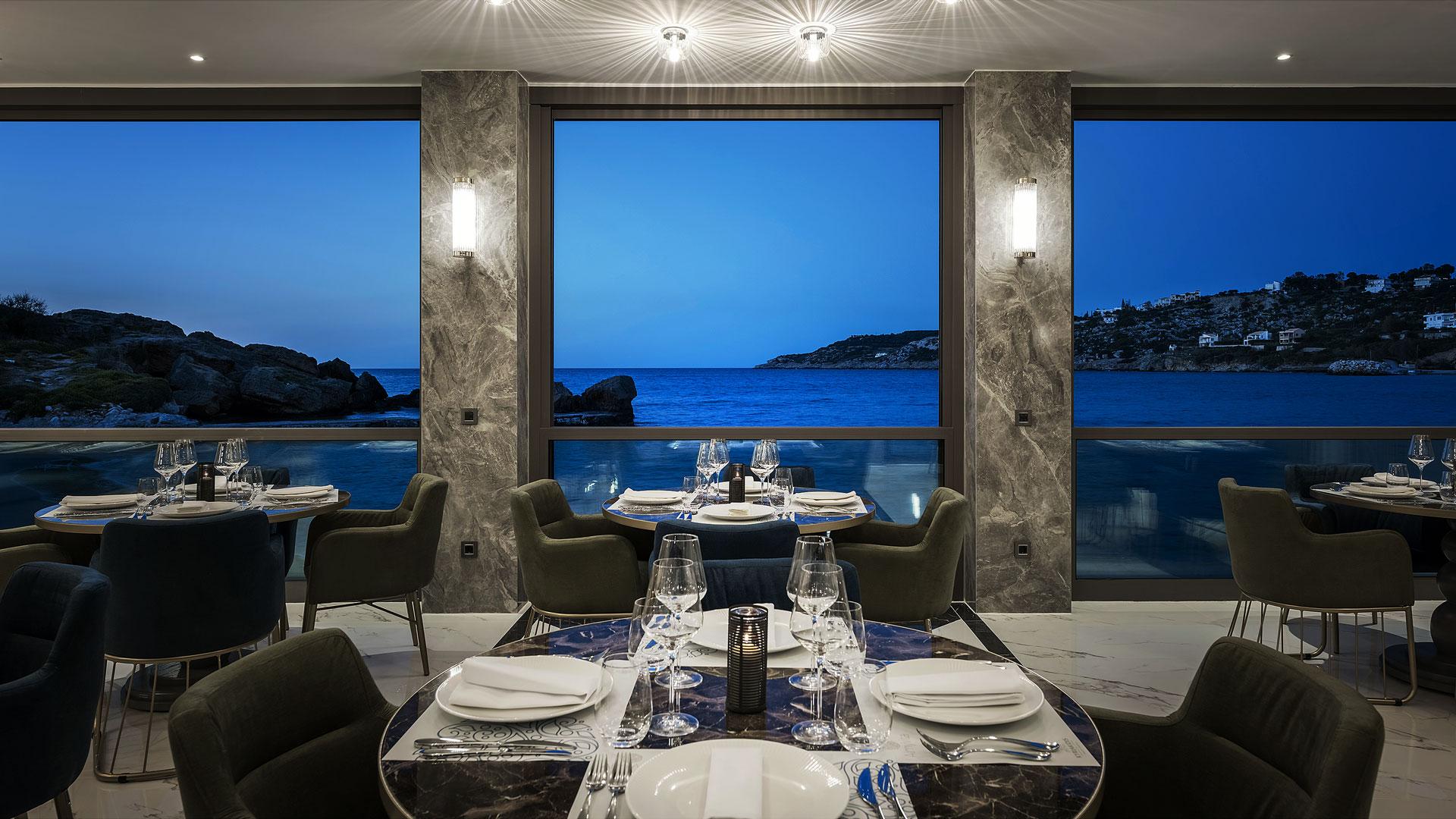 Luxury Restaurants in Chania- Almyvita Luxury Restaurant, Almyrida, Chania