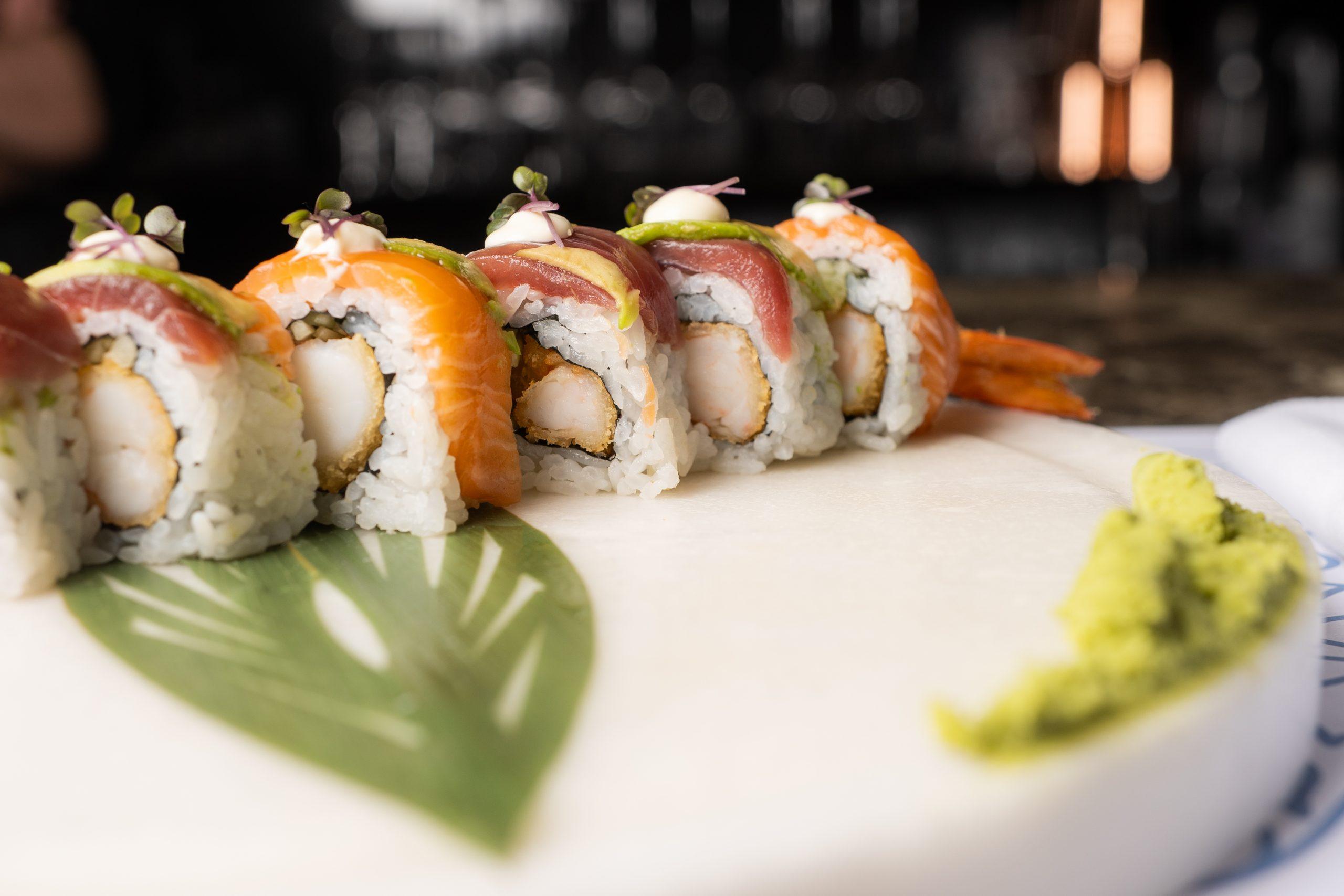 Sushi Menu- Luxury Restaurants Chania: Almyvita Luxury Restaurant