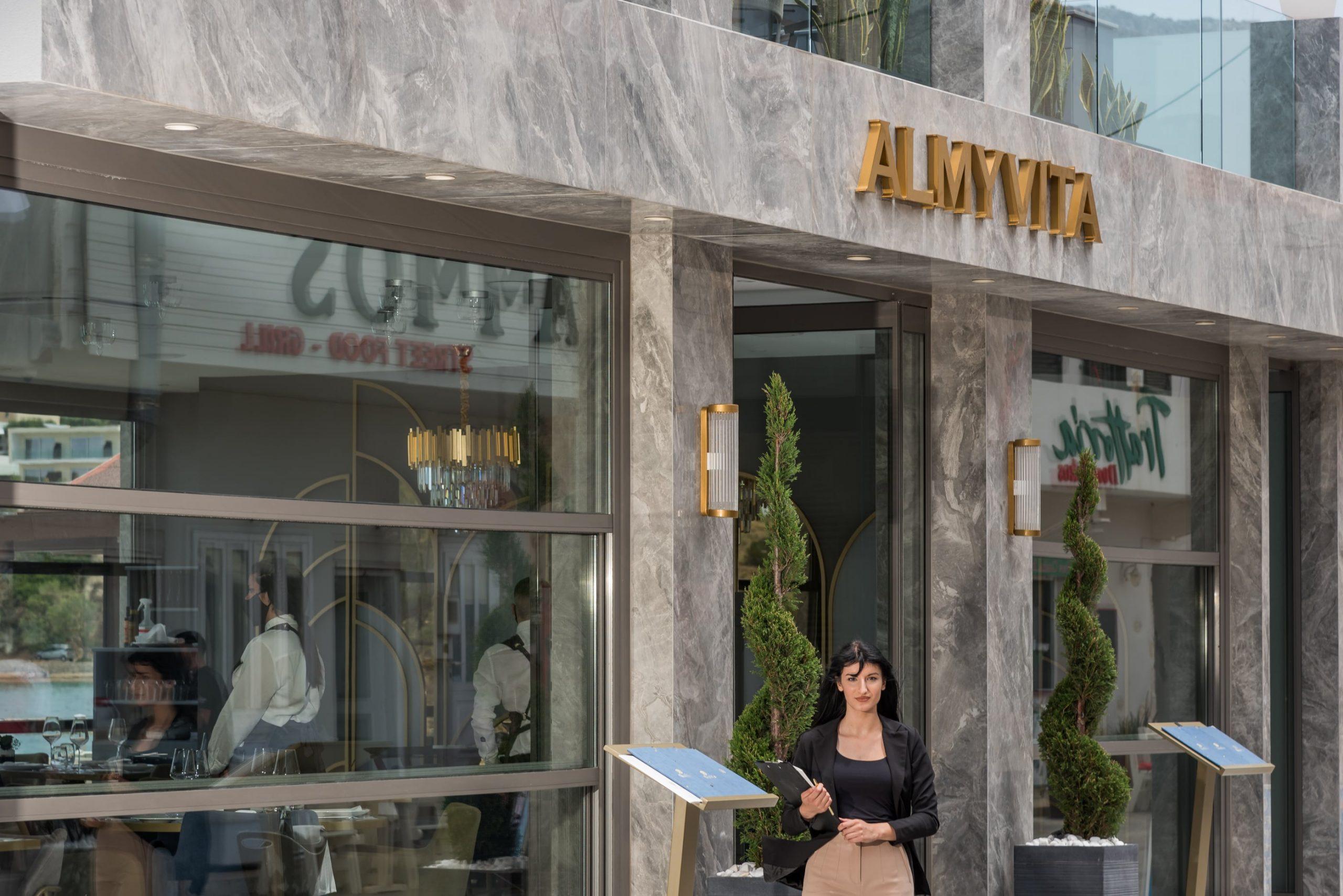 Γκουρμέ εστιατόρια Χανιά- Εστιατόρια Πολυτελείας Χανιά- Εστιατόριο με Θέα Almyvita