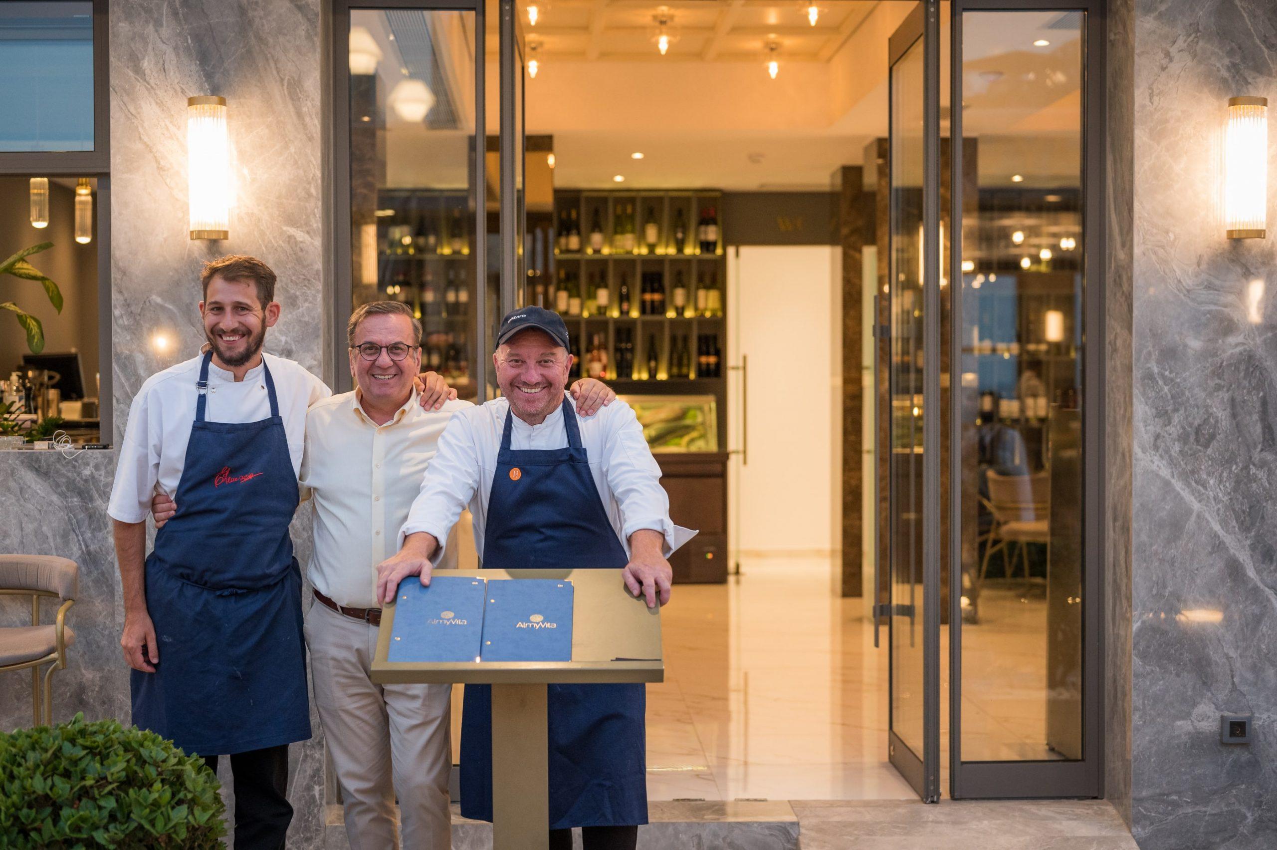 ALmyvita- luxury restaurant chania- almyrida- our guests- restaurant luxury chania- luxury restaurants chania