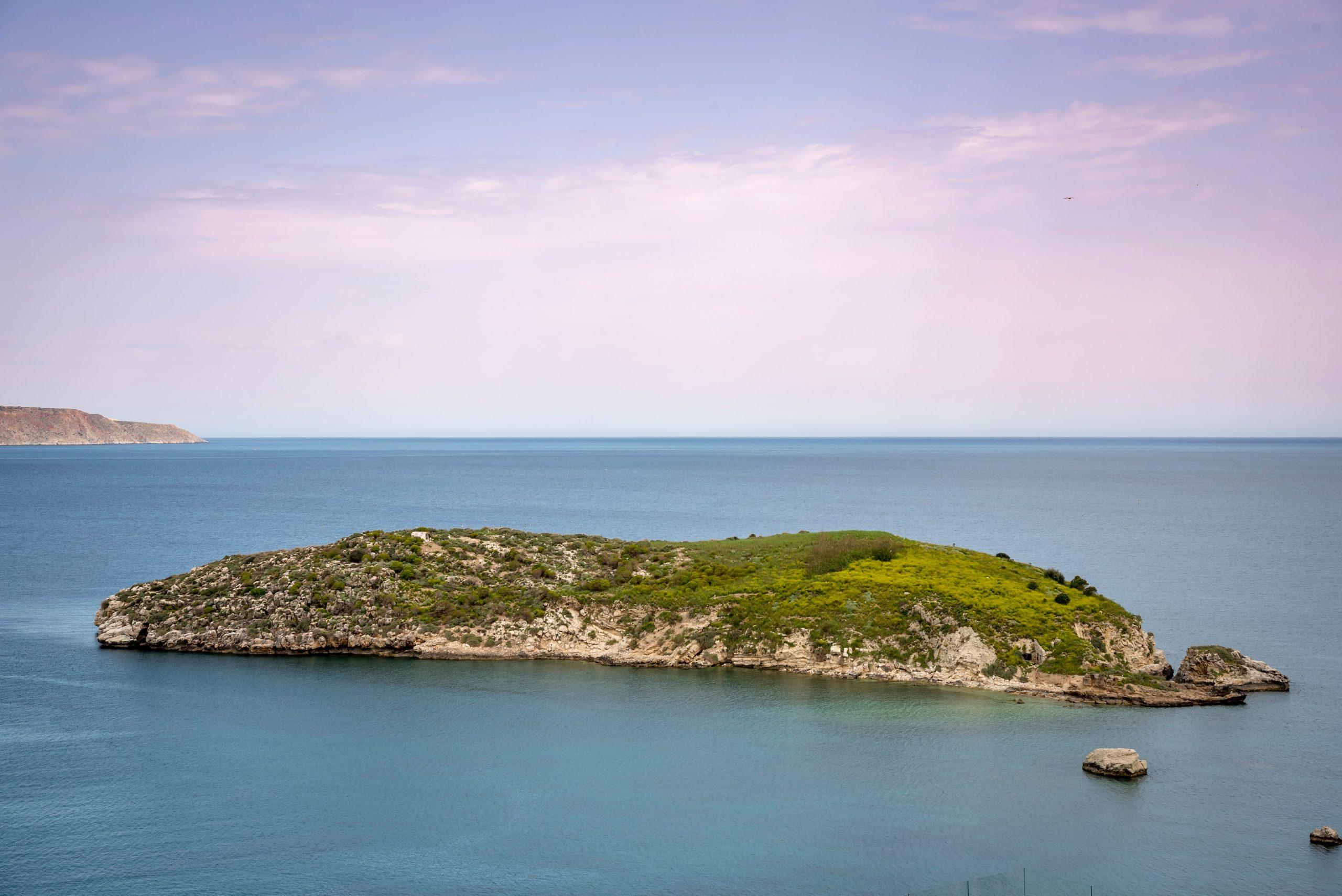 Almyrida small island -Almyrida Chania Crete