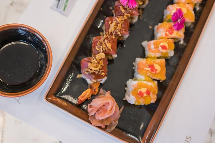 σούσι στα Χανιά-πιάτο σούσι-εστιατόριο Almyvita
