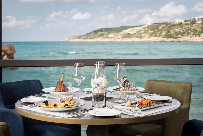 Almyvita restaurant in Chania- Sea views