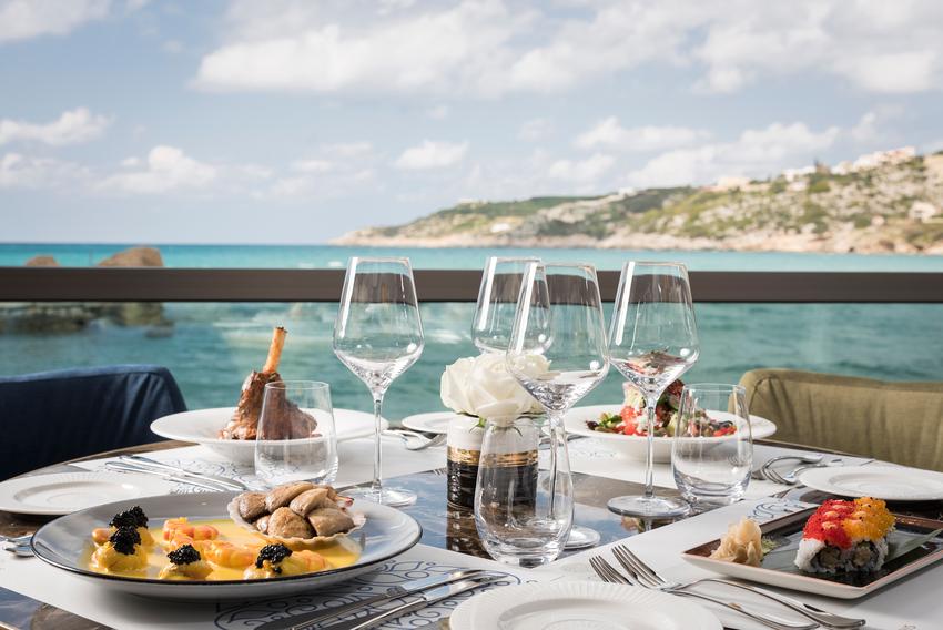 luxury restaurant in Chania- Almyvita luxury seafood restaurant in Chania